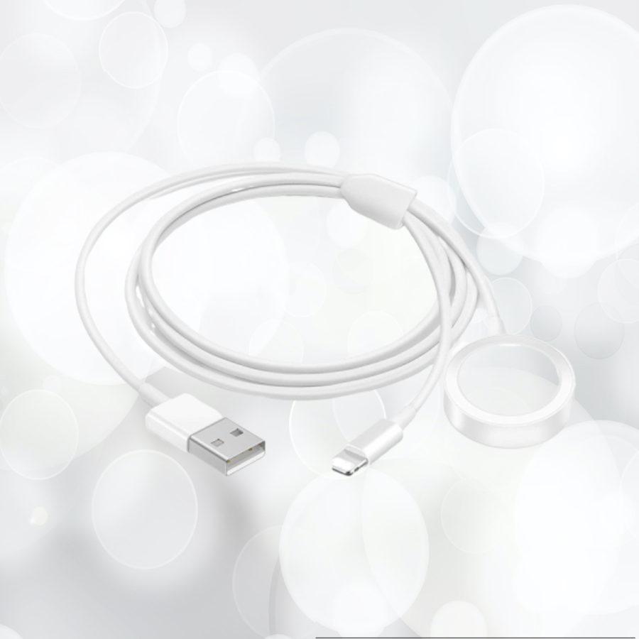 Chargeur portable 2 en 1 pour votre Apple Watch en combinaison avec votre iPhone, votre iPad ou même vos AirPods